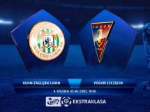 Zagłębie Lubin - Pogoń Szczecin 3:0