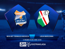 Termalica Bruk-Bet Nieciecza 1:0 Legia Warszawa