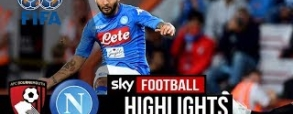 AFC Bournemouth 2:2 Napoli