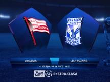 Cracovia Kraków 0:2 Lech Poznań