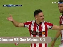 Dinamo Bukareszt 3:1 Gaz Metan Medias