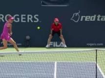 Agnieszka Radwańska - Caroline Wozniacki 0:2
