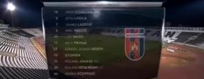 Partizan Belgrad 0:0 Videoton