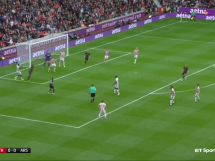 Stoke City 1:0 Arsenal Londyn