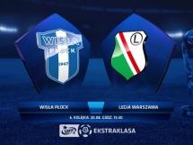 Wisła Płock - Legia Warszawa 0:1