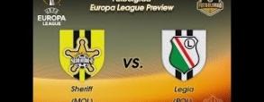 Szeriff Tyraspol 1:1 Legia Warszawa