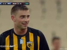 AEK Ateny 3:0 Club Brugge