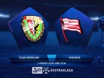 Śląsk Wrocław 2:1 Cracovia Kraków