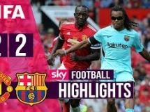 Legendy Manchesteru United 2:2 Legendy FC Barcelony