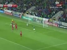 Irlandia Północna 2:0 Czechy