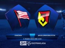Cracovia Kraków 1:1 Jagiellonia Białystok