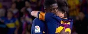 Pierwszy mecz Dembele dla Barcelony!