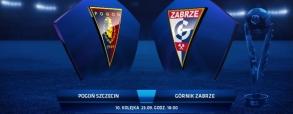 Pogoń Szczecin 1:2 Górnik Zabrze
