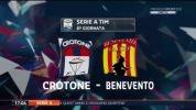 Crotone 2:0 Benevento