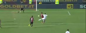 Gol Stępińskiego w debiucie z Cagliari!