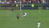 Gol Stępińskiego w debiucie z Cagliari! [Wideo]