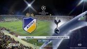 APOEL 0:3 Tottenham Hotspur