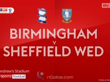 Birmingham 1:0 Sheffield Wednesday
