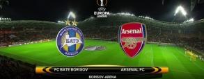 BATE Borysów 2:4 Arsenal Londyn