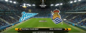 Zenit St. Petersburg 3:1 Real Sociedad