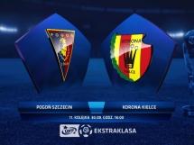 Pogoń Szczecin 0:0 Korona Kielce