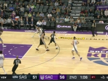 Sacramento Kings 106:100 San Antonio Spurs