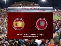Hiszpania 3:0 Albania