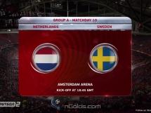 Holandia 2:0 Szwecja
