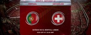 Portugalia 2:0 Szwajcaria