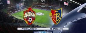 CSKA Moskwa 0:2 FC Basel