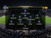 Everton 1:2 Olympique Lyon