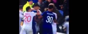 Piłkarzom Lyonu i Evertonu puściły nerwy!