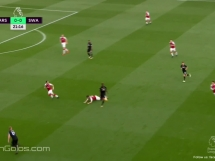 Arsenal Londyn 2:1 Swansea City
