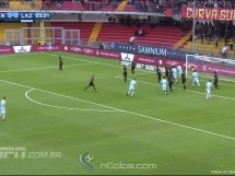 Benevento 1:5 Lazio Rzym