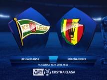 Lechia Gdańsk 0:5 Korona Kielce
