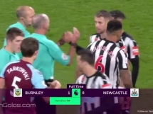 Burnley 1:0 Newcastle United