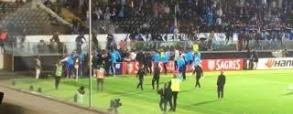 Patrice Evra zaatakował kibica swojej drużyny!