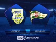 Arka Gdynia - Lechia Gdańsk 0:1