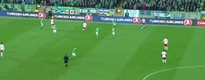 Irlandia Północna 0:1 Szwajcaria