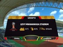 Zambia 2:2 Kamerun