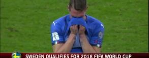 Sceny po zakończeniu meczu Włochy-Szwecja!