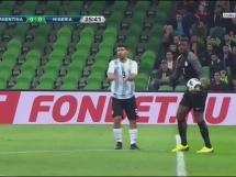Argentyna 2:4 Nigeria