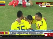 Chiny 0:4 Kolumbia