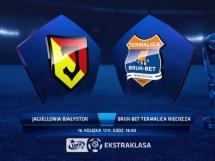 Jagiellonia Białystok 0:0 Termalica Bruk-Bet Nieciecza