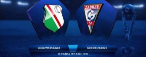 Legia Warszawa 1:0 Górnik Zabrze