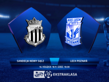 Sandecja Nowy Sącz 0:0 Lech Poznań