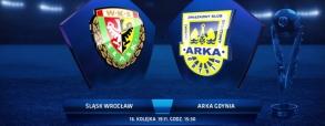 Śląsk Wrocław 1:2 Arka Gdynia