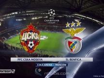 CSKA Moskwa 2:0 Benfica Lizbona