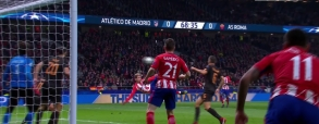 Atletico Madryt 2:0 AS Roma