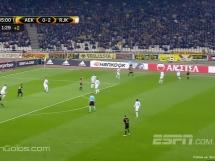 AEK Ateny 2:2 HNK Rijeka